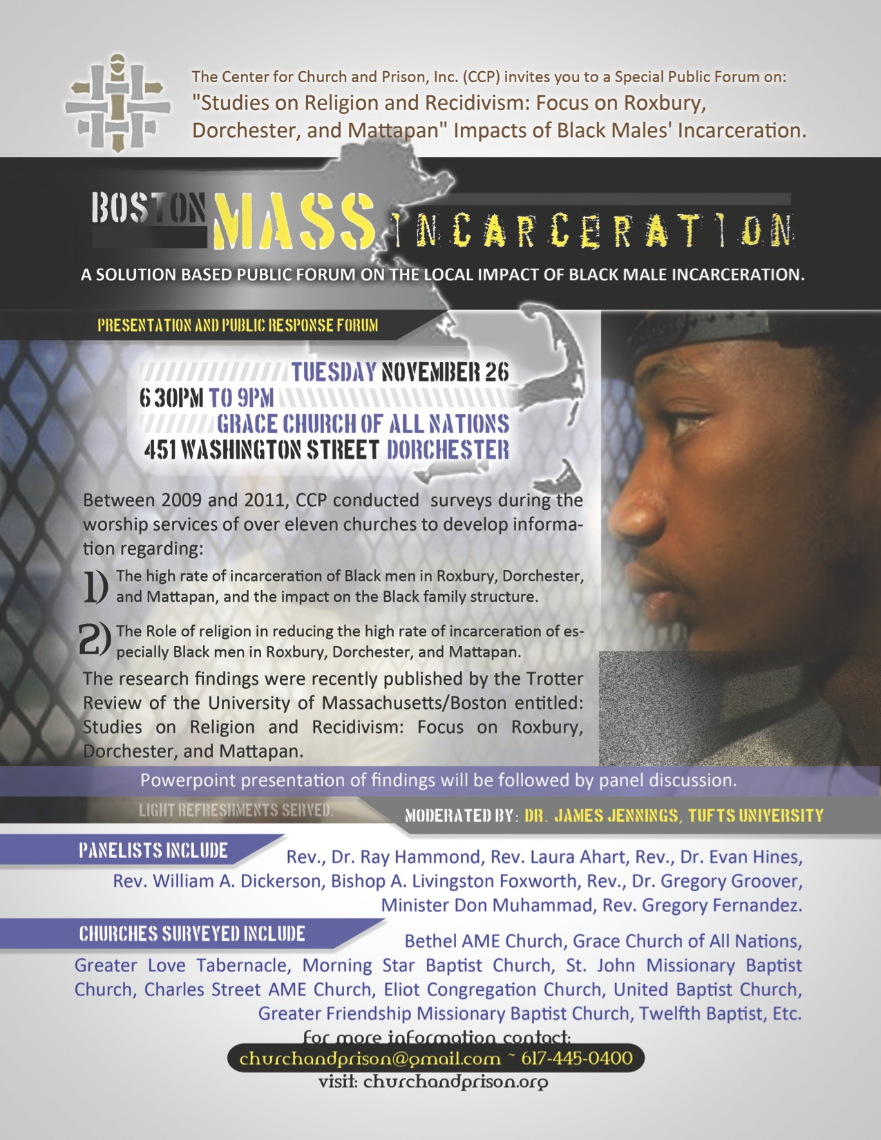 Studies on Religion and Recidivism-Flyer
